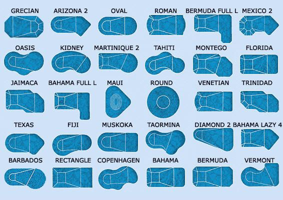 Different Pool Shapes